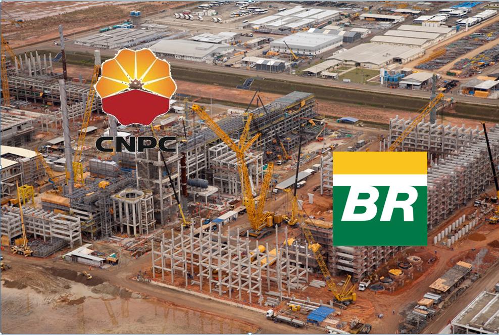Acordo entre Petrobras e Chinesa esta semana prevê retomada das obras no COMPERJ