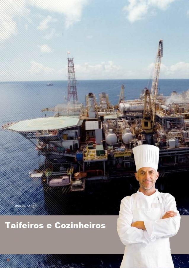 Taifeiros e Cozinheiros offshore