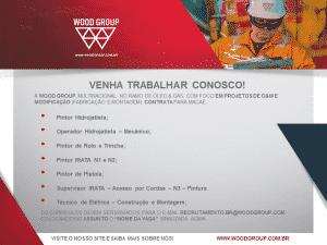 vagas de empregos na Woodgroup