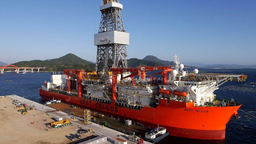 Trabalhe offshore na Seadrill sondas