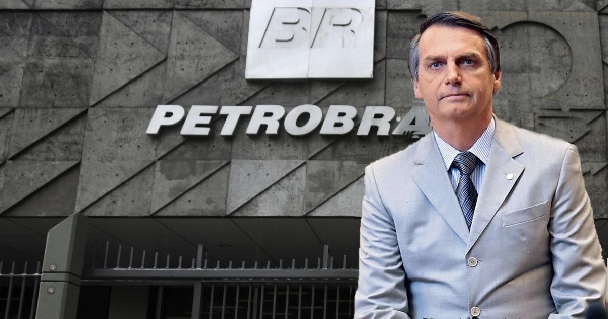 Bolsonaro diz em entrevista ao vivo que é a favor da privatização da Petrobras: Vejam suas propostas