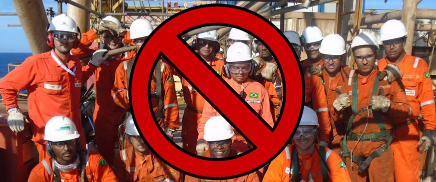 rescisão parcelada de funcionários offshore