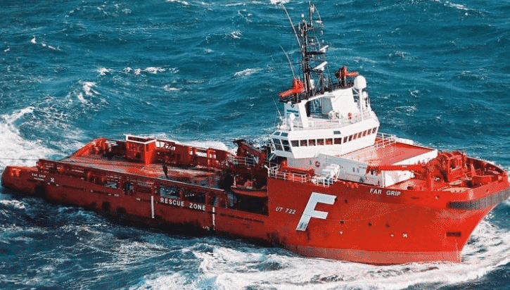 Norwegian ship offshore