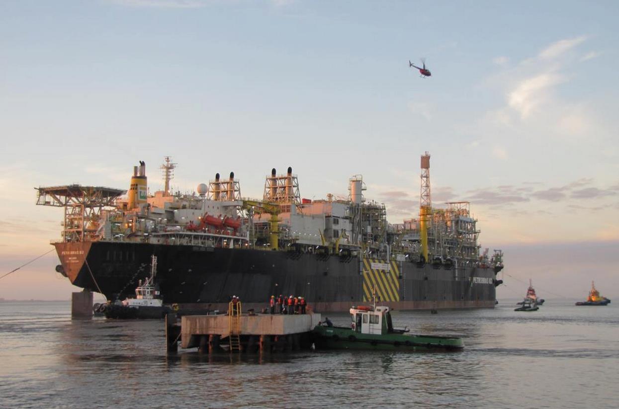 Petrobras produzirá mais 6 plataformas em 2018