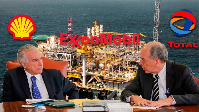Temer autoriza desinvestimentos da Petrobras em 105 campos de produção, 28 projetos e refinarias
