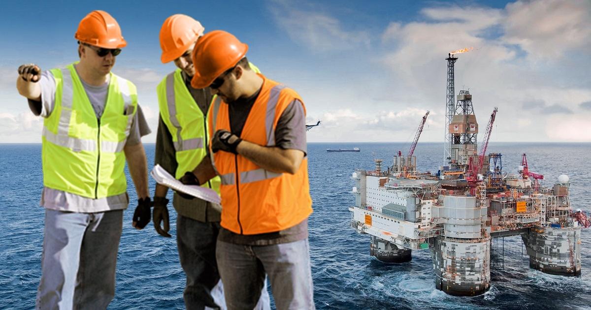 O recrutamento são para quase toda as funções offshore, óleo e gás divulgado por empresa de Recursos Humanos