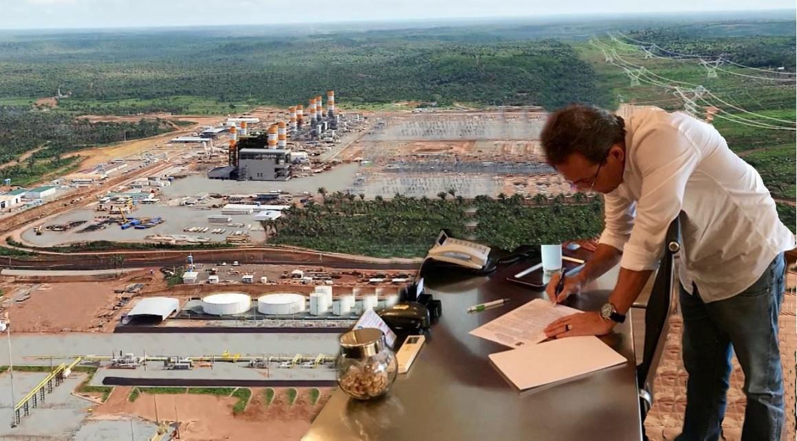 Termoelétrica Macaé saiu: Prefeito assinou o alvará de construção