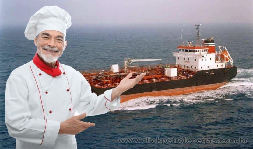 cozinheiro marítimo macaé offshore