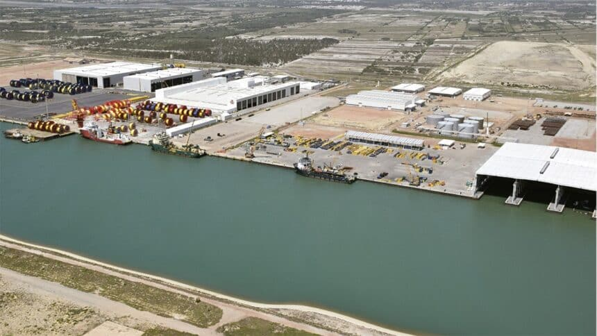 Siemens BP Prumo Logística porto do açu obras