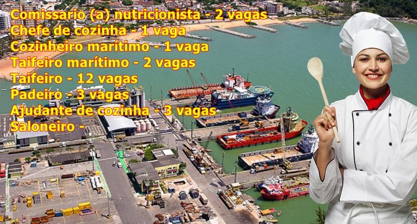Vagas hotelaria offshore em todas as funções atualizadas