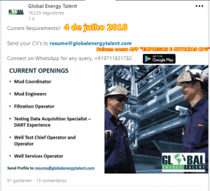 Global Energy Talent offshore jobs