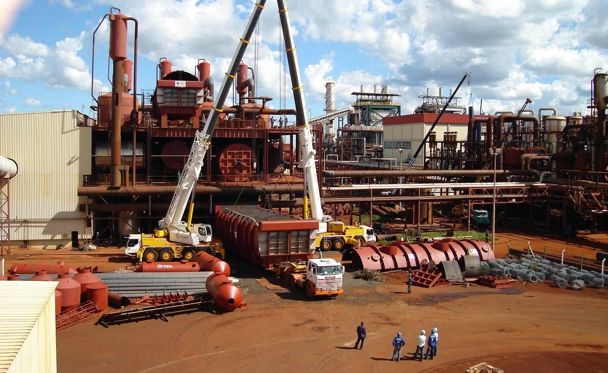 Empresa de montagem industrial vaga obra taubaté