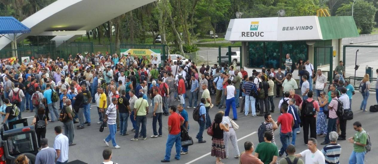 Estrutural Reduc Petrobras vagas manutenção