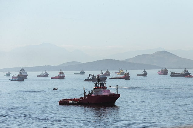 Risco de inadimplência no apoio marítimo