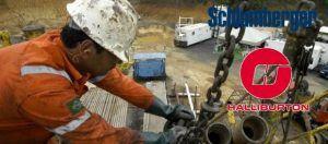 Schlumberger e Halliburton vagas Petrobras