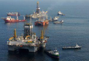 petróleo golfo do México leilões