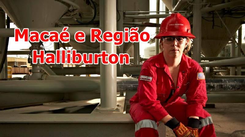 Halliburton estagio macaé tecnico