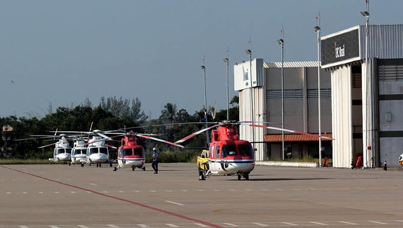 Macaé aeroporto porto do açú construção