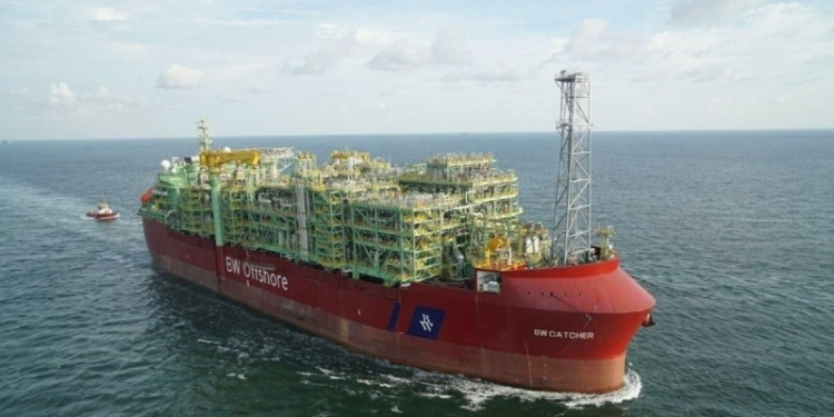 FPSO BW Adolo offshore