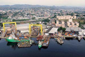 navio e estaleiro são miguel obras rio