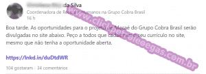 Cobra Brasil offshore Macaé vagas