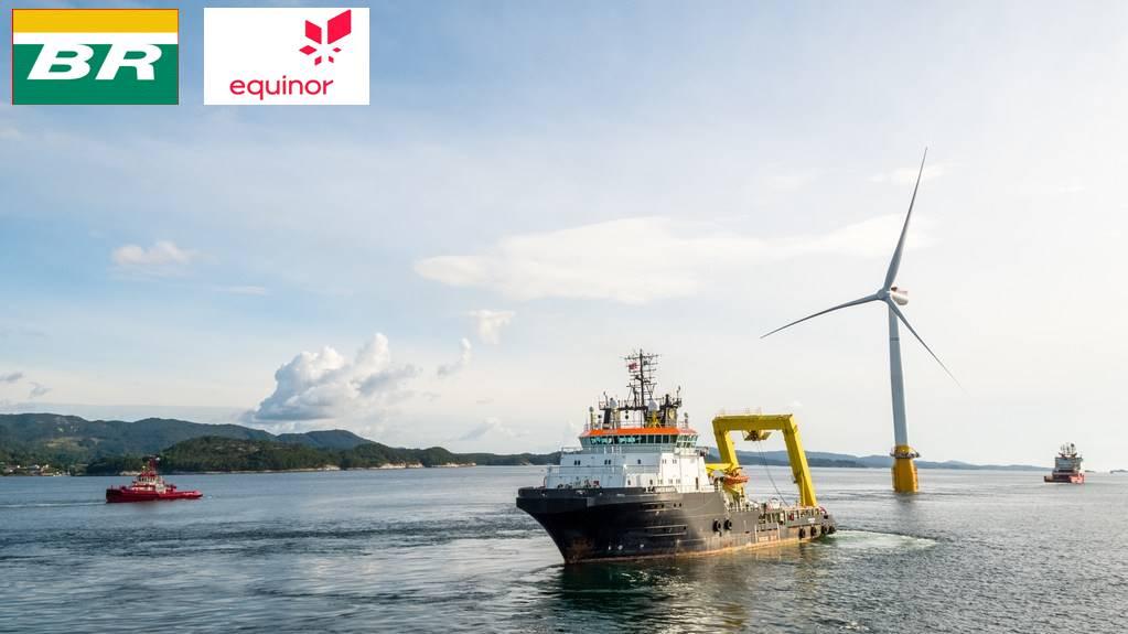 Petrobras e Equinor assinam acordo para projetos eólicos offshore