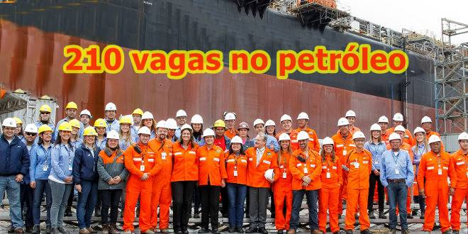 petróleo e gas Falcão Bauer vagas de empregos