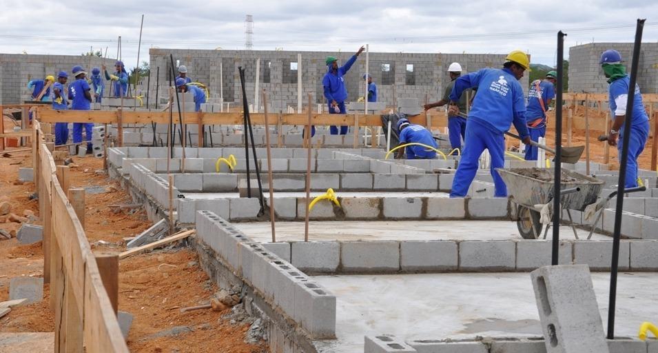 construção civil vagas obras empregos