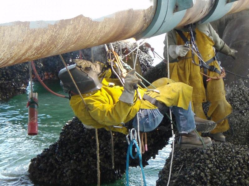 Oportunidade de emprego na Techocean para Soldador com IRATA N1