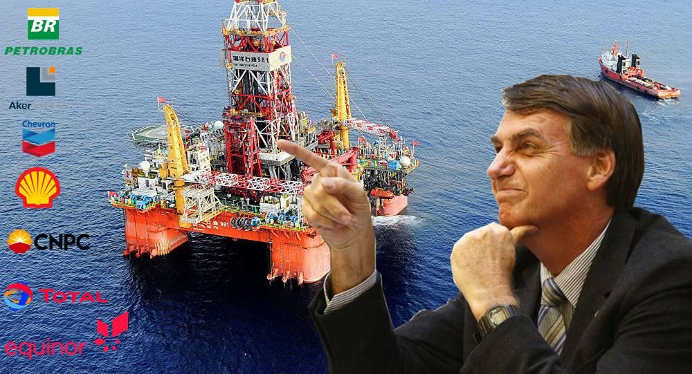 Bolsonaro industria do petróleo mercado petrolífero