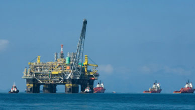Investimento do governo em óleo e gás