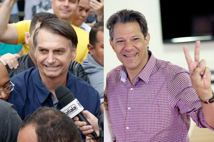Bolsonaro Haddad energia projeto