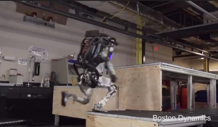 robô Atlas tecnologia
