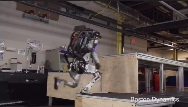 Robô com novas habilidades causou medo esta semana no mundo