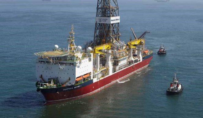 negócios oilfield drillship