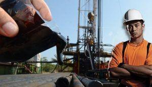 perfuração sonda terrestre petróleo
