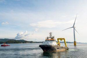 A Estatal Petrobras inicia turnê offshore no Reino Unido