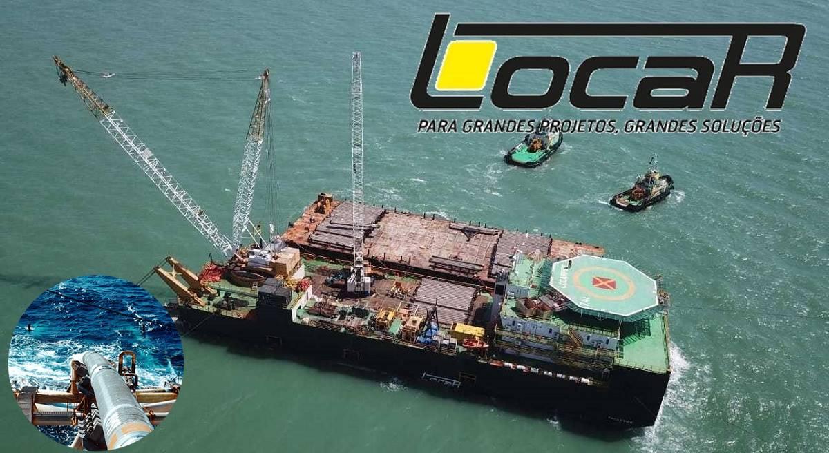 Locar prestes a iniciar o contrato do Comperj para à Rota 3