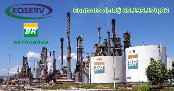 EQSERV Equipamentos Industriais ganha contrato com a Petrobras