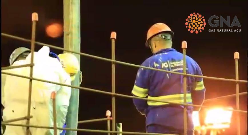 A construção da termoelétrica GNA Açu é dominada por trabalhadores da região, vejam os números