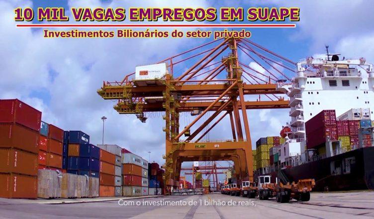 Porto Suape Pernambuco empregos