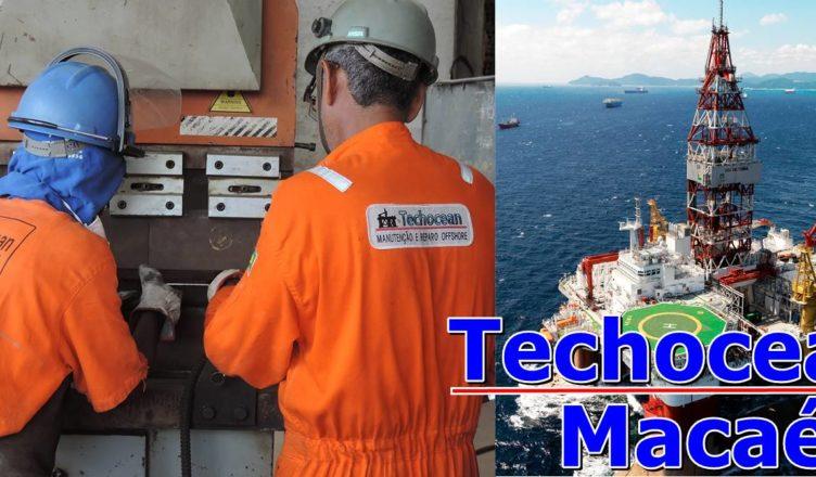 Techocean Vagas offshore na Porta