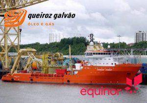 normand-pioneer contrato equinor Brasil queiroz galvão