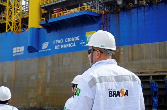 Sem contratos, a SBM Offshore decide encerrar atividades no estaleiro em Niterói
