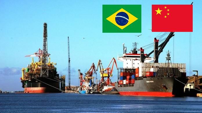 As exportações brasileiras de minério de ferro para a China em novembro subiram 2%