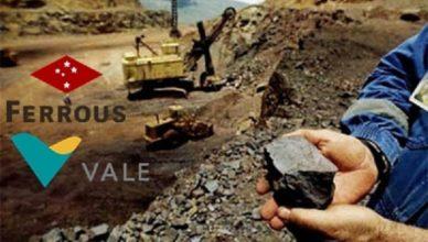 Ferrous Resources Vale Brasil negocios invetimentos
