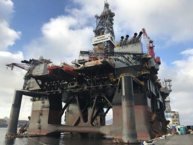 Kishorn prepara a maior plataforma semi-submersível do mundo