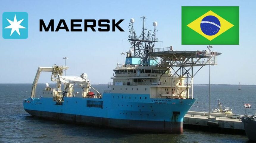 Maersk Brasil vagas maritimos