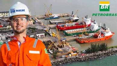Macaé porto dragagem Petrobras