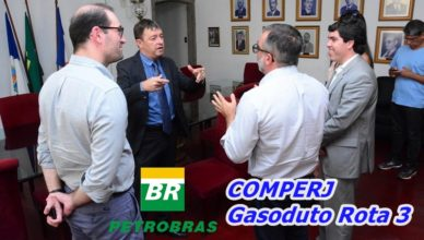Petrobras e comperj se reunem gasoduto rota 3